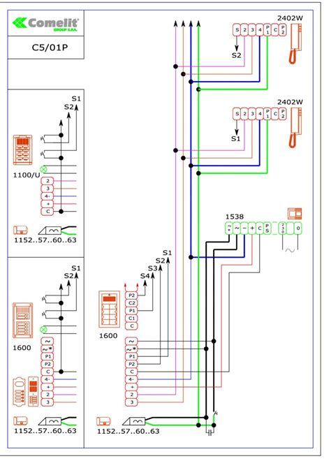 comelit wiring diagrams wiring diagram