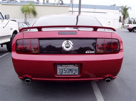 mustang tail lights 2005 smoked tail lights ford mustang forum