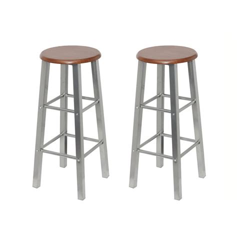 Wooden Breakfast Bar Stool by 2x Wooden Step Bar Stool Wood Ladders Home Shop Bar