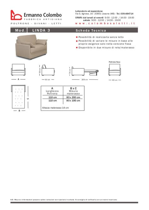 fabbrica poltrone poltrone letto catalogo ermanno colombo fabbrica