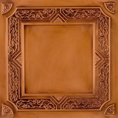 Wallpaper Ceiling Tiles by Dct 304 Faux Tin Ceiling Tile Drop In 24x24 Ceiling Tile