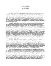 World Religions- Essay- Life of Pi Analysis - Life of Pi