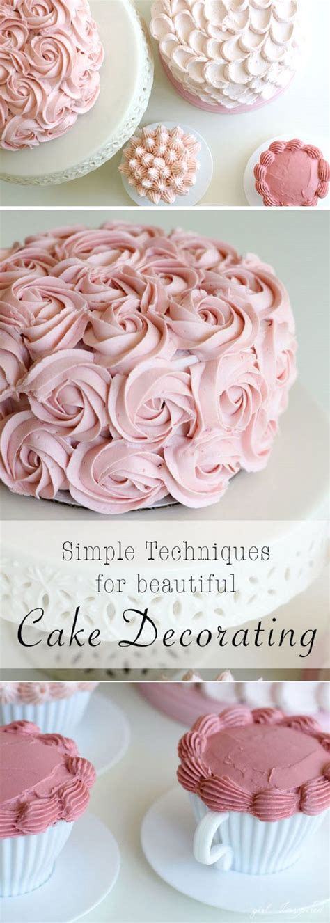 Top 28 Decorating Tricks To - 25 best ideas about simple cake decorating on