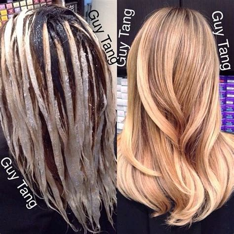 how long do balayage highlights take to process my hair balayage and instagram on pinterest