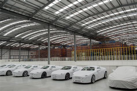 Aston Martin Opens New Logistics Facility Littlegate