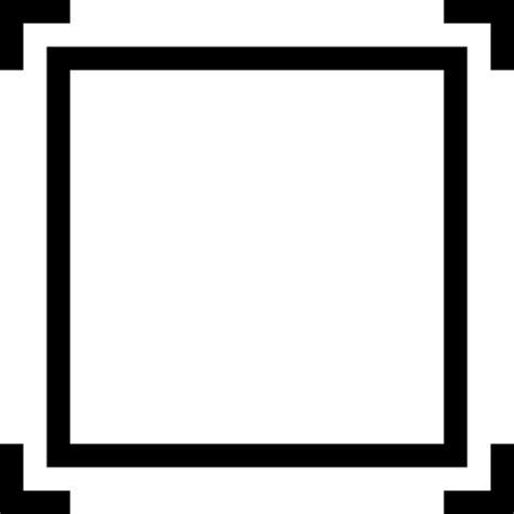 Frame 3d Bingkai Pigura 25x25x5cm framing miu icons symbol corners frame interface frames square squares icon