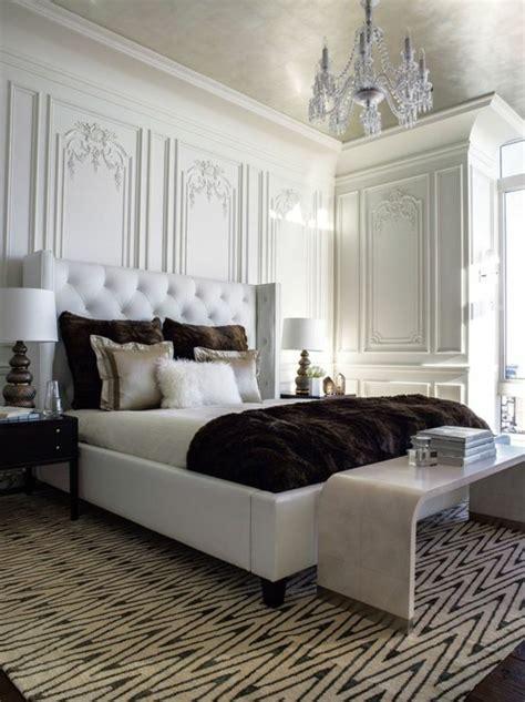 chambre a coucher luxe choisissez un lit en cuir pour bien meubler la chambre 224