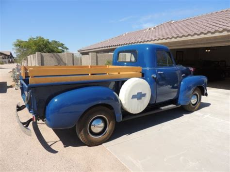 stake bed 1949 chevrolet pickup truck stake bed