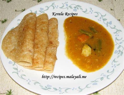 kerala dinner menu dosa recipe kerala dosha kerala recipes