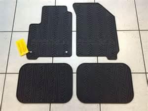 Floor Mats Dodge Journey Black Rubber Slush Floor Mats 2012 2016 Dodge Journey
