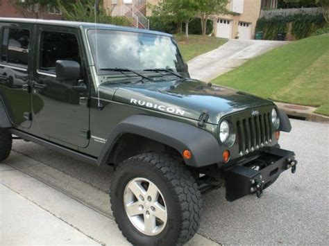 2007 Jeep Rubicon 4 Door For Sale by Sell Used 2007 Jeep Wrangler Unlimited Rubicon Jk 4x4 4
