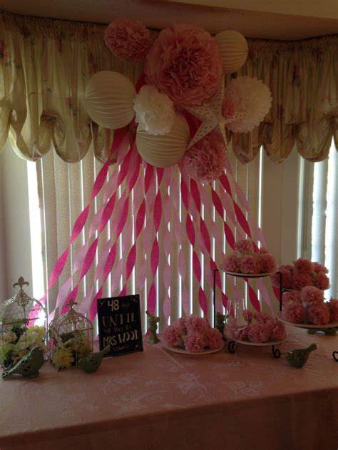 bridal shower decor good ideas pinterest
