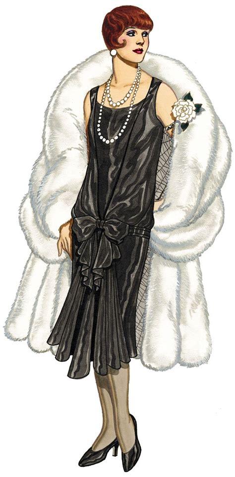 1920 illustration fashion sketches the