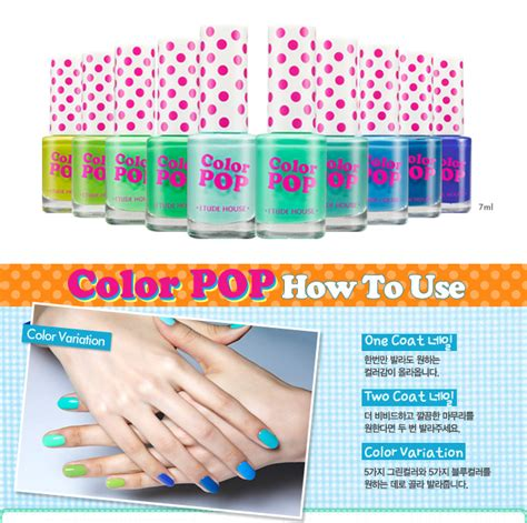 Etude Color Pop etude house color pop eyeliners and nail polishes