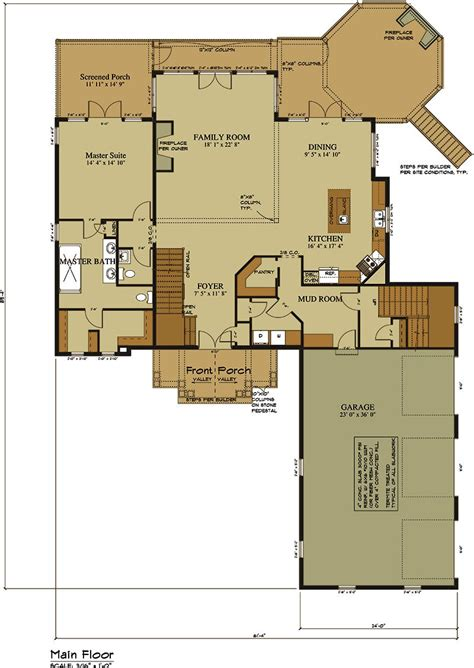 house plans with open floor plan 3 car garage lake house plan lake home designs