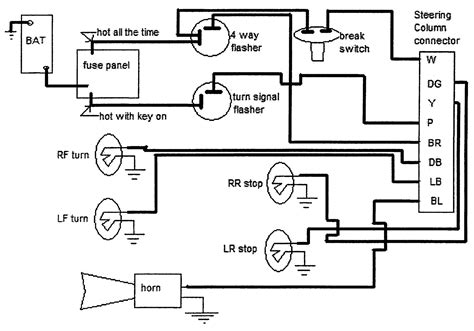 elect sycmatic with gm steering column wiring diagram