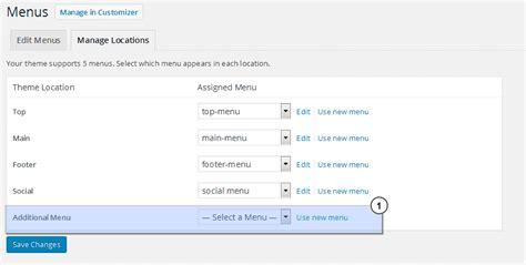 x theme blog navigation how to add more navigation menus to your wordpress theme