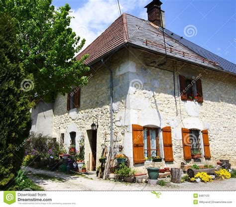 typical french home typical old french house stock photos image 9487123
