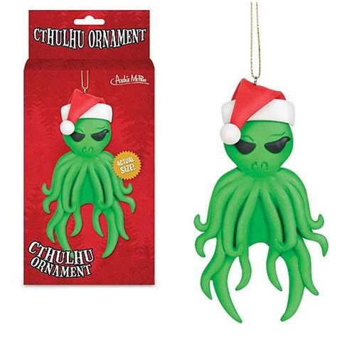 santa claus cthulhu christmas ornament accoutrements