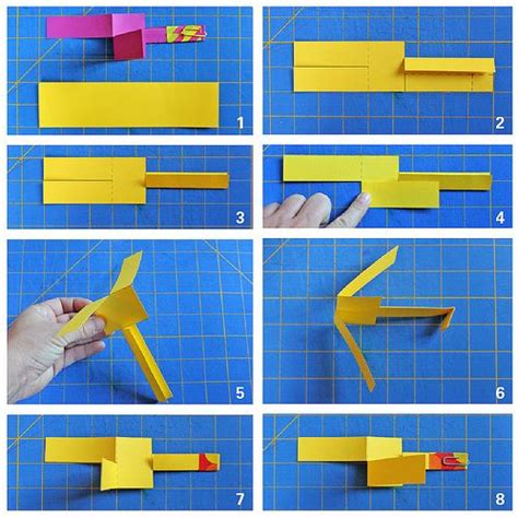 How To Make A Paper Helicopter Model - diy paper helicopter