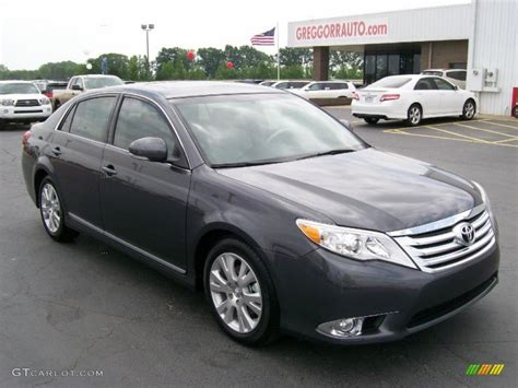 magnetic gray 2011 magnetic gray metallic toyota avalon 29669096 gtcarlot car color galleries