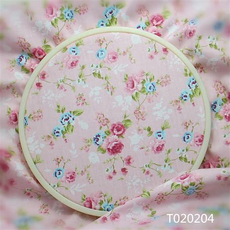 pink pattern cotton fabric 100x160cm vintage pink floral 100 cotton fabric patchwork