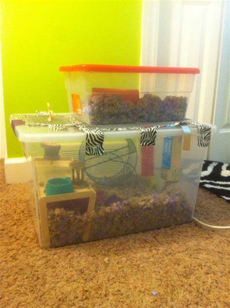diy bin hamster cage hamster diy bin cage this is buddy s 488 square inch two story home d hedgehog cage ideas