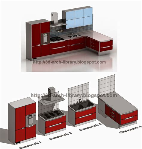 revit kitchen cabinets casework 001 kitchen furniture revit library arch cabinets