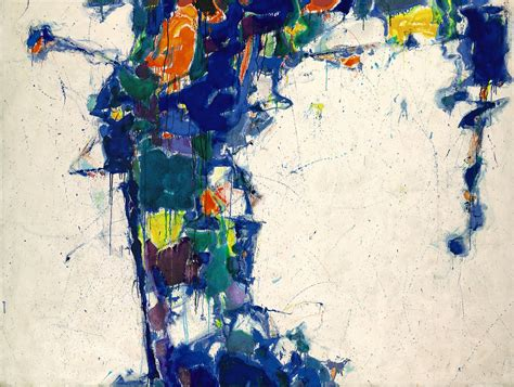 all painting middle blue sam francis wikiart org encyclopedia of