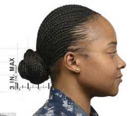 army cornrow styles us navy updates hairstyle guidelines after boot c