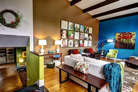 Decoration Mur Interieur Salon 2471 by Interior Photos 201 Clectique Salon Grand Rapids Par