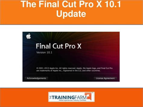 final cut pro update download the final cut pro x 10 1 update a brief introduction
