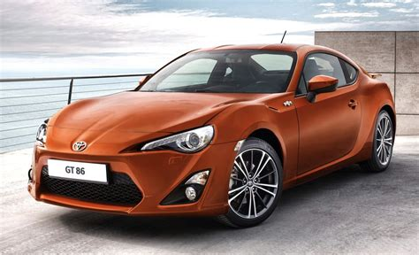 Sporty Toyota Cars Toyota Gt 86 Sports Car Officially Revealed In Production Form