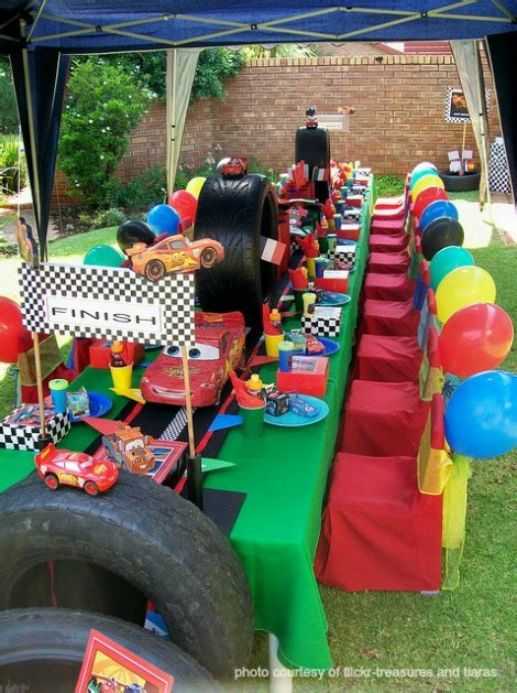 black car party in the backyard disney cars birthday party