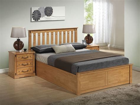 Wood Ottoman Bed Stanley Solid Wooden Ottoman Storage Bed Frame 4ft6 5ft Kingsize Ebay