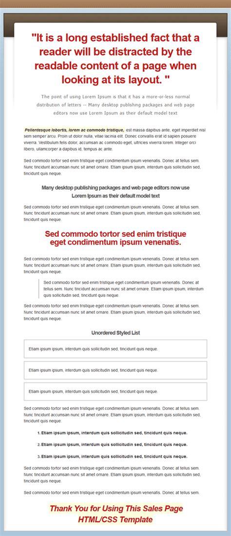 20 salespage website templates mrr
