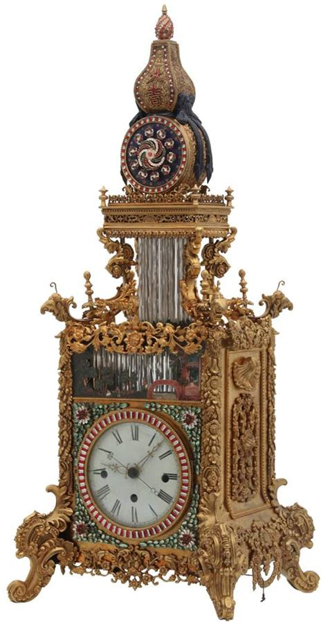 chinese triple fusee and gilt bronze bracket clock with rare antique chinese clock brings great prosperity 1