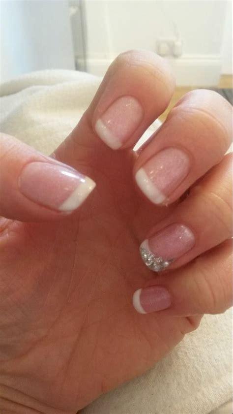 Hair Manicure wedding nails my wedding ideas wedding nails