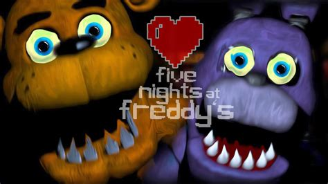 imagenes en movimiento de five nights at freddy s five nights at freddy s osos amorosos youtube