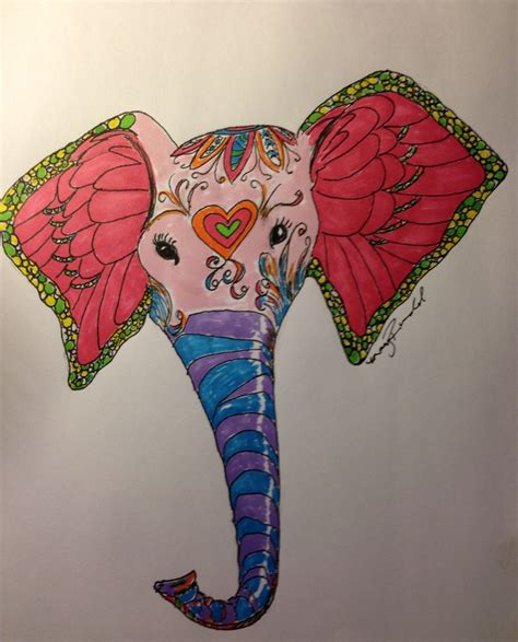 doodle elephant 17 best images about doodles on mexican