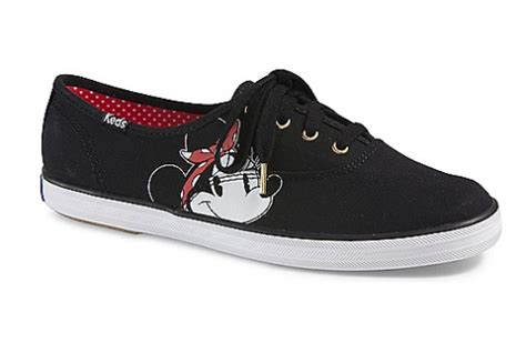 Keds Shoes Chion Minnie Original 1 the new keds x minnie mouse collection is now available for pre order
