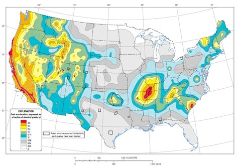 earthquake zones usa humans are creating the newest earthquake zones in north