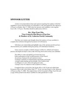 Sponsorship Letter Catholic Church Best Photos Of Catholic Confirmation Letter To Candidate Catholic Confirmation Sponsor Letter