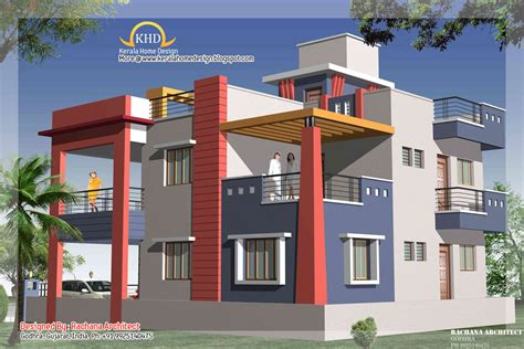 duplex house duplex house plan and elevation 2349 sq ft home