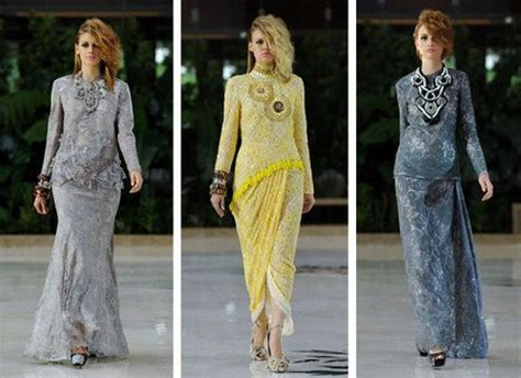 design baju lace 3d beautiful baju kurung from our favourite designer