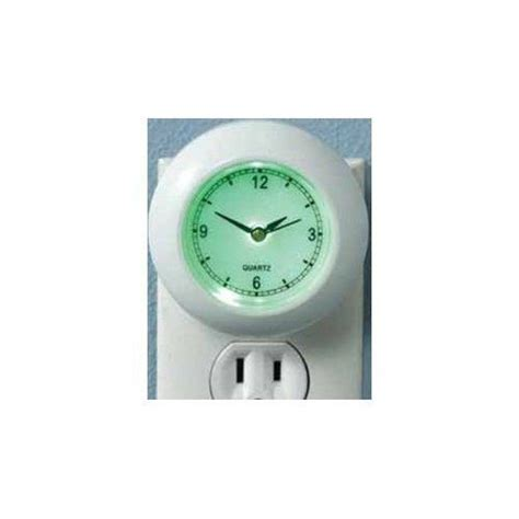 in light clock clock light in led safety security