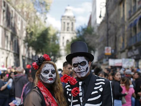day of the dead in pictures mexico city hosts day of the dead