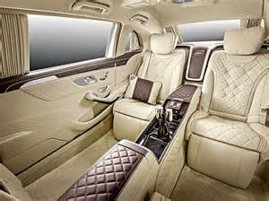inside maybach inside the mercedes maybach s600 pullman the s