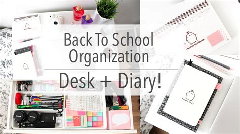 Back To School Desk Organization Back To School Desk Organization Back To School Desk Organization Hoosier Pics For Gt