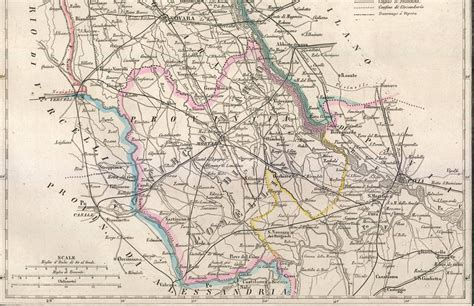pavia cartina geografica novara lomellina mortara pavia carta geografica vallardi